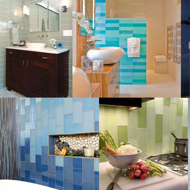 Colorful Bathroom Plans