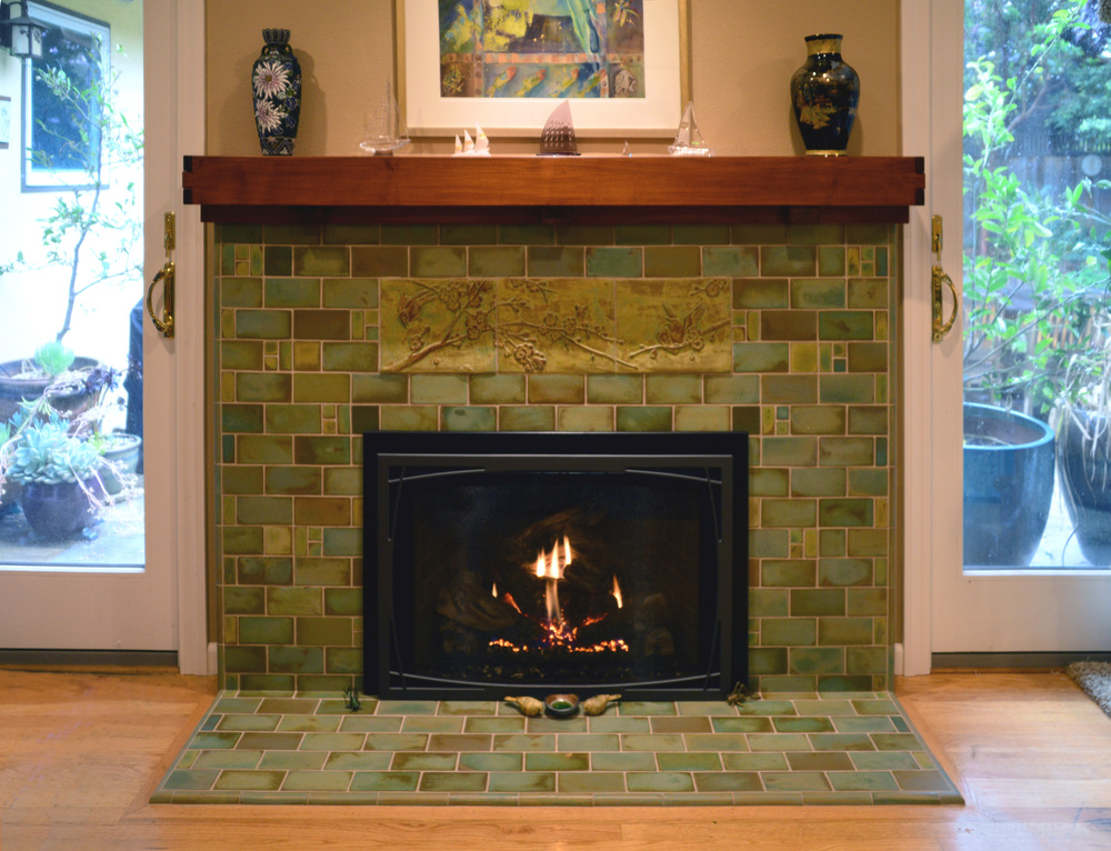 Arts and crafts fireplaces for Craftsman style fireplace