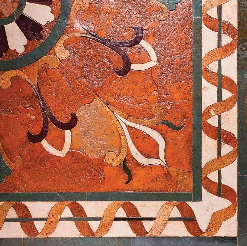 authentic terracotta tile Fiesole Corner