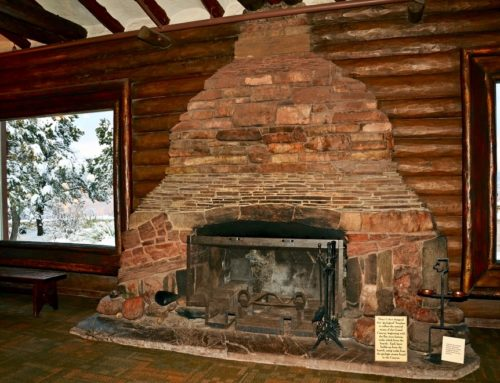 Stone Fireplaces in Grand Lodges