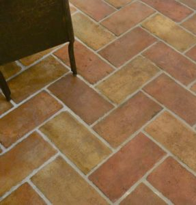 authentic terracotta tile